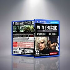 Metal Gear Solid: HD Collection - PlayStation Vita Cover and Case. NO GAME!!