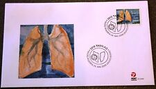Greenland Post Official FDC 2008.05.24. Tuberculosis - Single