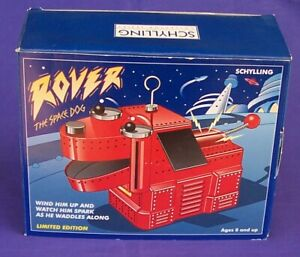 Rover The Space Dog Schylling Wind Up Toy. Limited Edition Boxed never opened