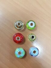 TROLLBEADS COLOURED BEADS 925 STERLING SILVER. PRICED PER BEAD