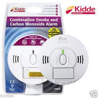 Kidde Combined Smoke and Carbon Monoxide Detector Alarm 10SCO