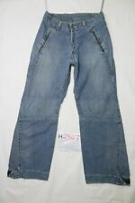 Levi's ENGINEERED 718 usato (Cod.H2847) W34 L32 denim jeans largo