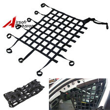 Black Car Racing Window Net Safety Equipment Off Road Nylon Webbing