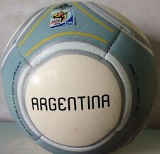 2010 South Africa FIFA World Cup Adidas Mini Soccer Ball - Argentina