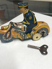 Louis Marx wind up tin motorcycle