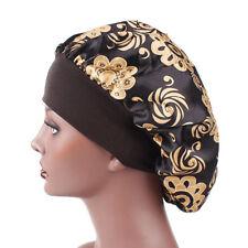 Women Satin Bonnet Cap Night Sleep One size