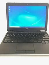 Dell Latitude E7240 - Windows 10Pro 256GB SSD 8GB RAM Laptop - READ DESCRIPTION