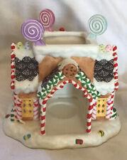 PartyLite Christmas Gingerbread Village #1 Cottage Tealight Holder gb1