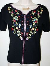 17cec5258501c0 Joseph A. QU EST-CEQUEC EST SILK  Women s Short Sleeve Pullover