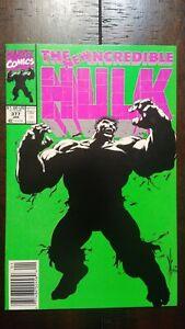 Hulk #377 newsstand (1st app. Professor Hulk personality)