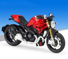 1:18 Maisto 2014 DUCATI MONSTER 1200 Motorcycle Bike Model Red