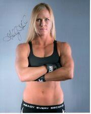 HOLLY HOLM Signed UFC Photo w/ Hologram COA