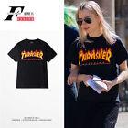 Thrasher Print Skateboard Tee Fashion Summer T-shirt Unisex