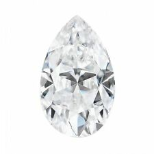 0.43CT Pear Cut Moissanite Loose Stone G-H-I Color Charles and Colvard 6x4MM