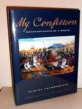 """Book """"My Confession"""" Recollections of a Rogue Samuel Chamberlain TEXAS MISPRINT"""