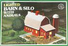 Bachmann 49-2573 HO Lighted Barn with Silo with Animals Building Kit