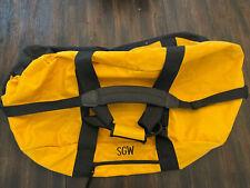 "Large Duffle Bag - 38""L x 20""W x 16""H Heavy Duty Canvas Zip Close w/Pocket"