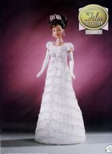 My Fair Lady Outfit for Barbie Doll Annie's Film Collection Crochet Pattern NEW