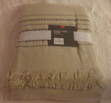"Home Design Studio Border Stripe Throw Blanket 50"" x 60"" New 100% Acrylic"