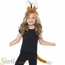 enfants Renard Animal Accessoire costume déguisement Bandeau + queue