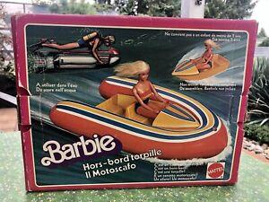 Barbie Boot Sea Jet OVP Schlauchboot 1978