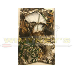 Primos Hunting-3/4 Face Mask- Stretch Fit- Realtree Camo-BIN99