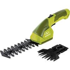 Sun Joe HJ604C-RM 2-in-1 Cordless Grass Shear + Hedger 7.2 V Green