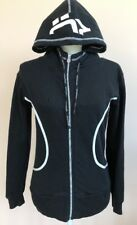 ROHNISCH FEMALE EFFECT Womens Size XS Black Zip Front Long Sleeve Cotton Hoodie