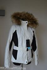 Femmes authentique nouveau écru napapijri veste de ski taille m 660 €