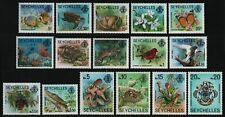 Seychellen 1977 - Mi-Nr. 394-409 I ** - MNH - Fauna & Flora (III)