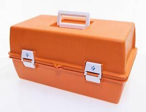 Flambeau PM 1872 Orange Retro Paramedic Trauma Medical Tackle Box First Aid