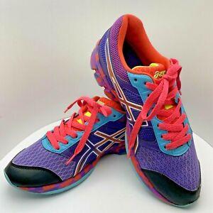 Asics Womens Gel-Frantic7 Running Shoes Purple Pink Blue T3A6Q Size 7.5