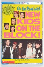 Vintage On The Road with New Kids On the Block! Krulik 1990 Paperback New Sealed