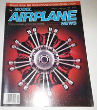 Model Airplane News Magazine A Four Stroke Engine Story November 1985 080514R