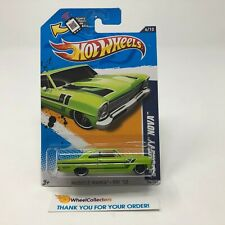 '66 Chevy Nova #106 * Green Walmart Only * 2012 Hot Wheels * G29