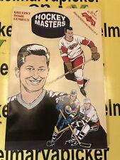 Wayne Gretzky Gordie Howe Mario Lemieux 1992 Revolutionary Comics Hockey Masters