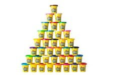 36 Pack of Play Dough Modeling Compound & Sculpting Playset (3oz tubs)