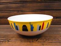 Around the World by Studio Nova New York Soup Bowl Multimotif Color City Theme