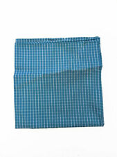 Armani Collezioni Mens Pochette 350064 Pocket Square Teal Blue