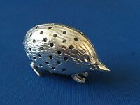 HEDGEHOG PIN CUSHION  VICTORIAN STYLE STERLING SILVER