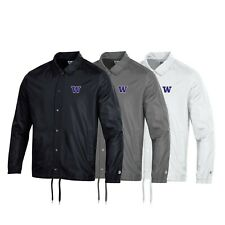 Washington Huskies NCAA Men's Champion Classic Coaches Jacket Collection