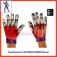 Transformers 4 Optimus Prime Age of Extinction Boys Child Costume Movie Gloves