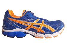 Asics Gel-Pulse 4 Mens Running shoes Blue/Neon Orange T240N 4730, 14 UK /50.5 EU