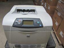 HP LASERJET 4250TN 4250DTN PRINTER Pages since last maintenance :102511