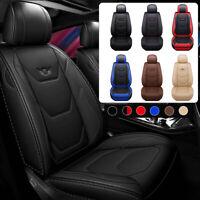Fundas para asientos de coche Fundas protectoras de cuero sintético PU de lujo