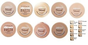 Maybelline Dream Matte Mousse Foundation 18ml Various