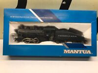 Mantua Ho Scale Powered Steam Locomotive Shifter PRR Pennsylvania Railroad NOS
