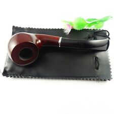 Top Quality Hot Sale WOODEN Enchase Smoking Pipe Tobacco Cigar Pipes+Stand Rack