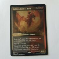 Magic the Gathering Commander Legends Rakdos, Lord of Riots Etched Foil