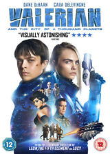 Valerian and The City of a Thousand Planets DVD 2017 Movie Reg 2